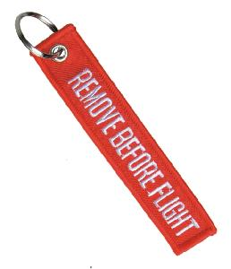 Breloc REMOVE BEFORE FLIGHT