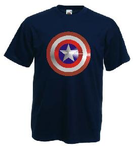 Captain America Metalic DTG