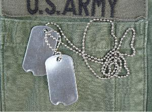 Dog Tag US Army