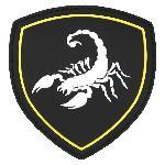 Ecuson 3D PVC Scorpion Rusia