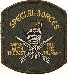Ecuson Special Forces cu Adeziv