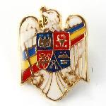 Insigna Stema Romania Alba