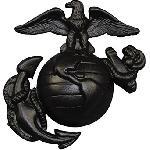 Insigna USMC Neagra