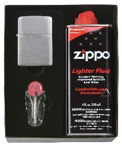 Bricheta Zippo - promotie pachet cadou cu pietre de schimb si benzina