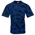 Tricou Camuflaj Baltic Blue Nightcamo
