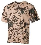 Tricou camuflaj tropical