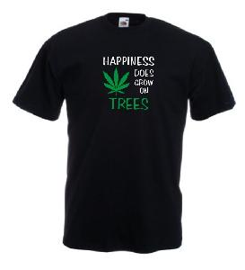 Tricou imprimat Happiness