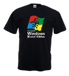 Tricou imprimat Windows Pirates Edition